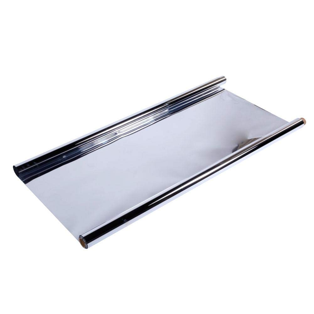 Gati-way 2 Mil 48'' x 50' Silver Reflective Mylar Film Covering Foil Sheets, Highly Reflective, 100% Environmentally Safe