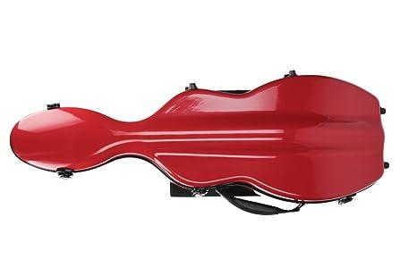Estuche para violín fibra ultra Light 4/4 M Rojo M-Case ...