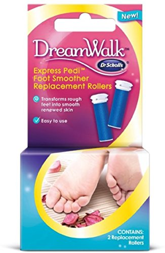 Dr. Scholl's Express Pedi Foot Smoother Replacement Rollers 2 ea (Pack of 6)