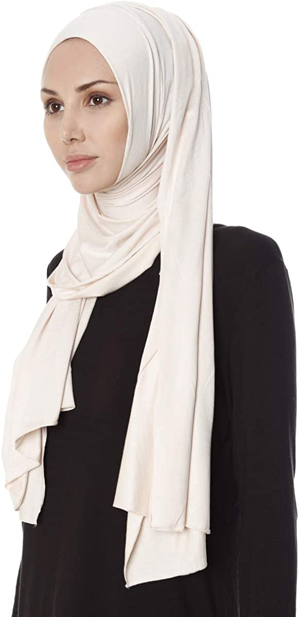 Ecardin Hanfendy Praktisch Fertig Hijab /Fertig gebunden Kopfbedeckung Kopftuch Halstuch Haartuch