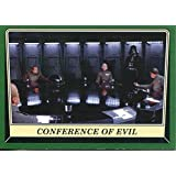 Star Wars Rogue One Mission Briefing Green Base Card #29 Conference of Evil