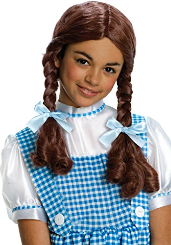 Wizard of Oz Dorothy Wig, Child (Brown Hair Girl Halloween Costume)