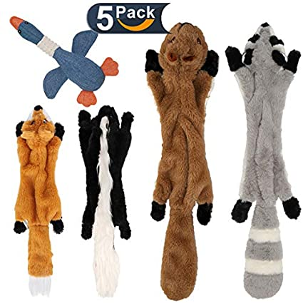 dog toys without stuffing