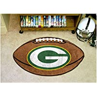 NFL - Green Bay Packers Football Rug 20.5 x 32.5 Inch Non Skid Rug Mat Floor Protector
