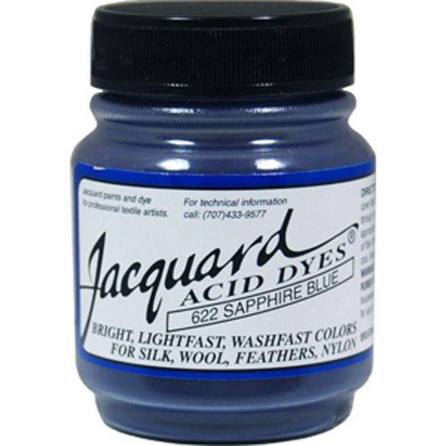 Jacquard Acid Dyes 1/2 Ounce-Sapphire Blue