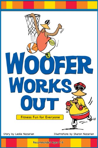Woofer Works Out (Childrens Book Series)