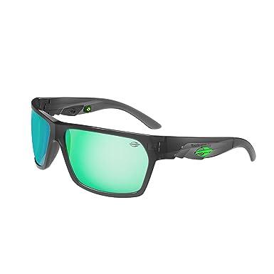 Sonnenbrille Amazonia II, Mormaii matt grau mit grün linsen