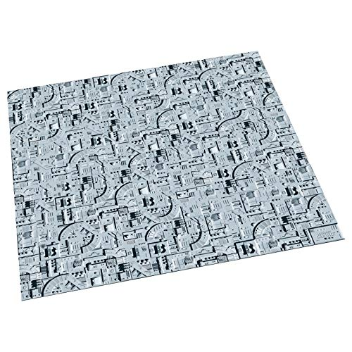 (Ultimate Guard Battle Mat Premium Gigantic Size Single Player 3 ft x 3 ft Starship Edition)
