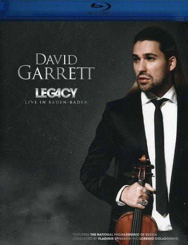 Blu-ray : David Garrett - Legacy Live in Baden: Baden (Blu-ray)