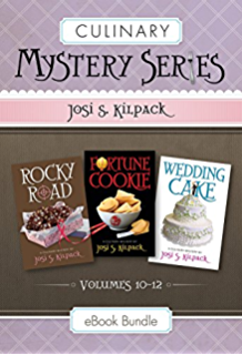 Culinary Mysteries Series, Volumes 10-12: Rocky Road, Fortune Cookie, and