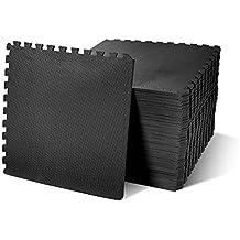 BalanceFrom Puzzle Exercise Mat with EVA Foam Interlocking Tiles