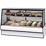 Federal SGR7748CD Deli Case, Refrigerated, Straight Glass, Single Duty, 77 Long