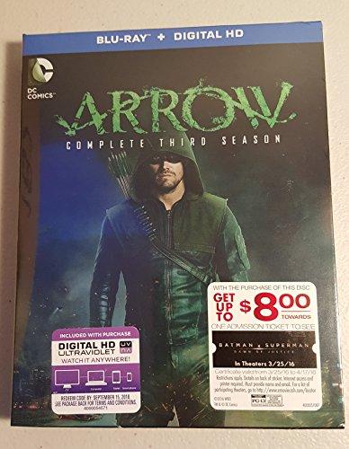 Arrow: Season 3 (Blu-ray + UltraViolet Combo)