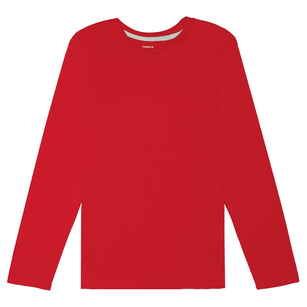 French Toast Boys' Basic Long Sleeve Crew Neck Tee LA3345