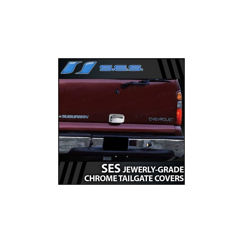 2000 06 Chevy Tahoe/Suburban SES Chrome Tailgate Handle Cover (rear lift gate)