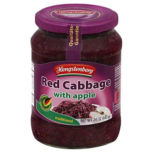 Hengstenberg Cabbage Red Apple, 24.3 oz