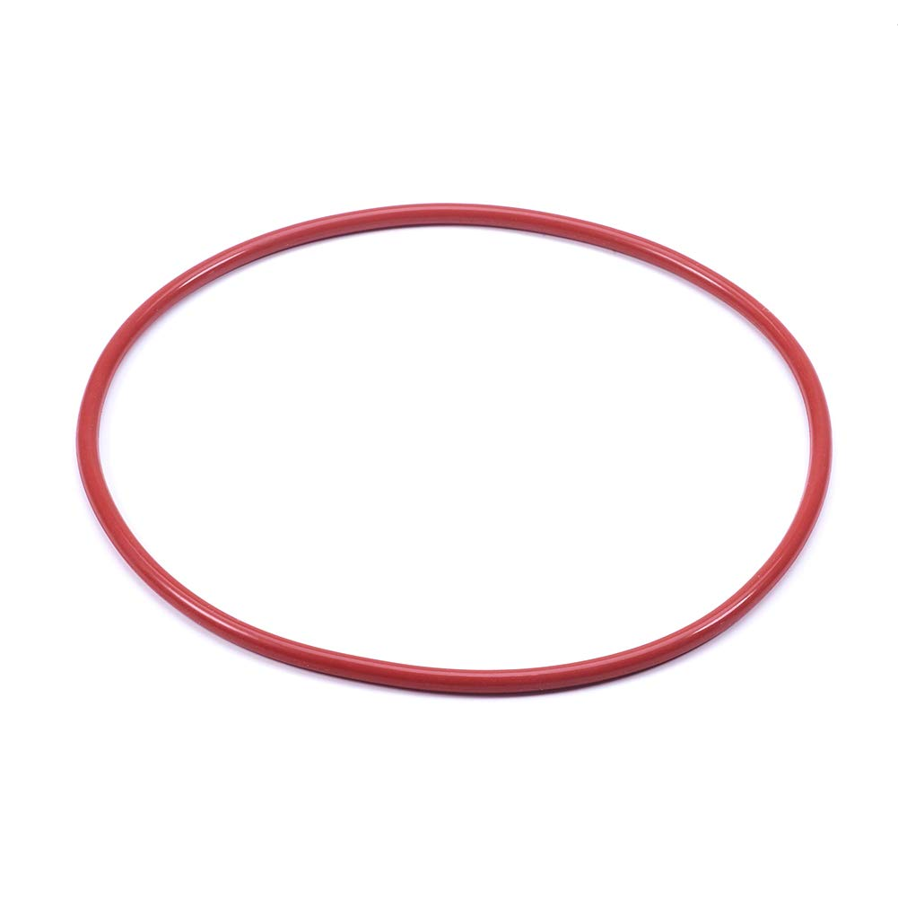 145mm OD Othmro Silicone O-Ring 3.1mm Width 138.8mm ID Red 1 Pcs VMQ Seal Rings Gasket