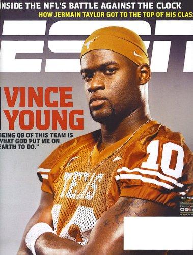ESPN Magazine - Vince Young December 2005