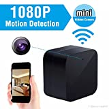 MDTEK@ HD 1080P WIFI IP Hidden Camera Wall Plug Mini USB Charger Spy Cam Wireless Nanny Adapter Cameras with Audio Remote View via iPhone/Android APP, PC, Tablet Support Video Loop Recording