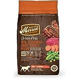 Merrick Grain Free Real Texas Beef + Sweet Potato Recipe Dry Dog Food, 12-Pound