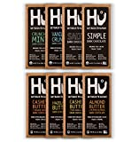 Hu Vegan Chocolate Bars | 8 Pack VARIETY SAMPLER PACK | Gluten Free, Paleo, Non GMO, Kosher Dark Chocolate | 2.1oz Each