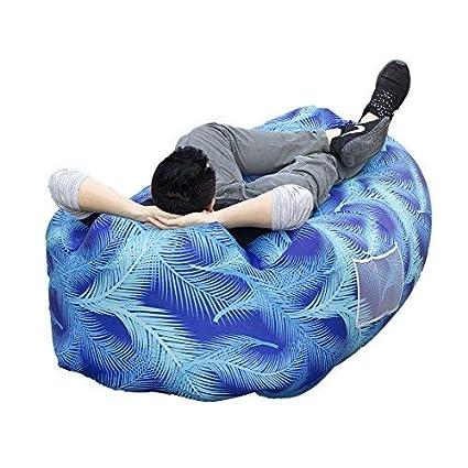 Amazon.com: Kry aire inflable sofá, silla, dormir sofá ...