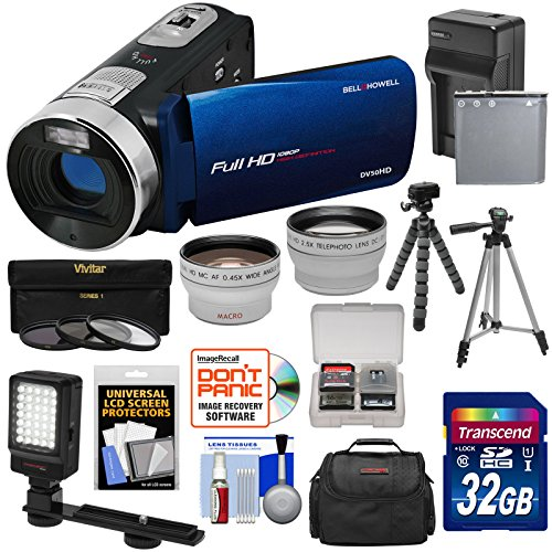 Bell & Howell Fun Flix DV50HD 1080p HD Video Camera Camcorde