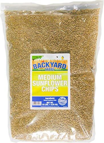 Medium Sunflower Chips - Backyard Seeds Medium Sunflower Chips 10 Pounds