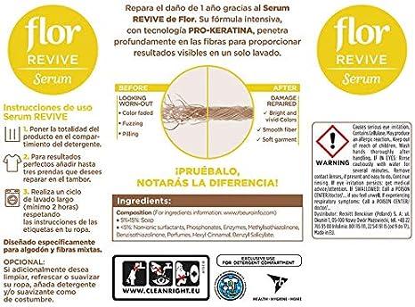 Flor Revive Serum Reparador Suavizante Ropa de Algodón - 1 Unidad ...