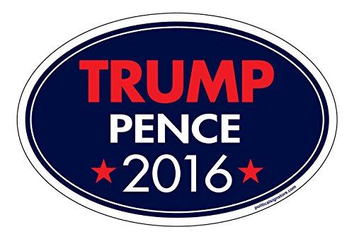Imagine This Car Magnet - Trump Pence