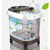 Foot tub - Electric Massage - Foot Bath Foot Massager - herb Box, Water Temperature Adjustment