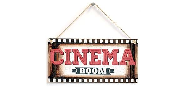 Amazon.com: Cinema habitación – marco de película cine en ...