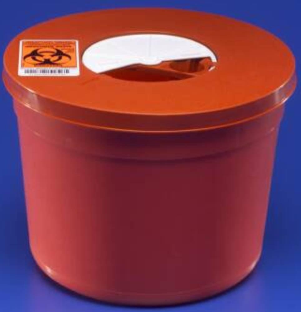 Kendall 8950SA Sharps Multi-Purpose Container - 5 quart