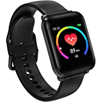 BINDEN BWatch Reloj Inteligente 42mm, Smartwatch con Pantalla HD, Modo Fitness, Deporte, Notificaciones, Ritmo Cardiaco, iOS/Android IP68