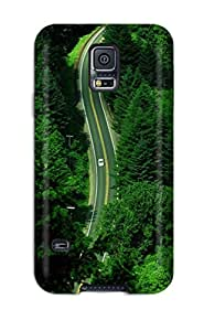 Alicia Russo Lilith's Shop Quality Case Cover With Highway Pines Nice Appearance Compatible With Galaxy S5 8295552K48398106