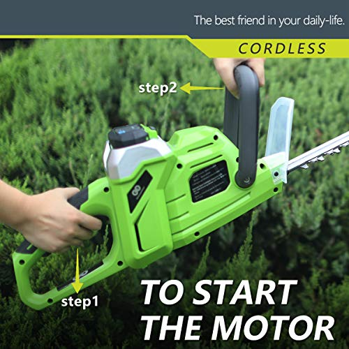 Best Partner Max High Trimmer,20-Inch,2.0AH Battery and Charger Include
