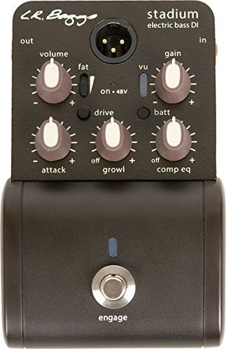 LR Baggs Stadium DI - Bass DI with Shaping Controls by LR Baggs