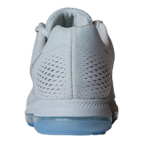 Nike Zoom All Out Low Size 7.5 Womens Running Pure Platinum/Chrome-Glacier Blue Shoes by NIKE (Image #2)