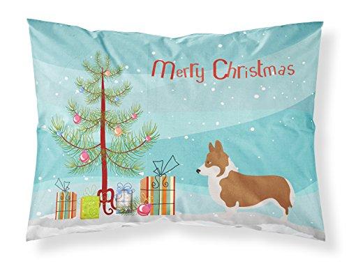 Pembroke Welsh Corgi Christmas Tree - Caroline's Treasures Pembroke Welsh Corgi Christmas Pillowcase, Standard, Tree