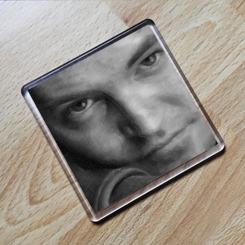 Seasons Matthew Perry - Original Art Coaster #js002