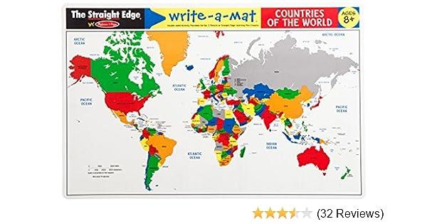 Melissa & Doug, Writeamat Countries