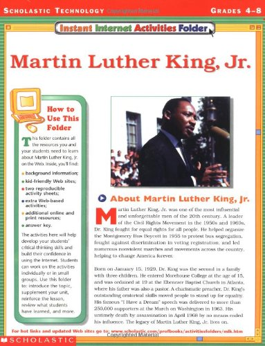Amazon.com: instant Internet Activities Folder: Martin Luther King ...