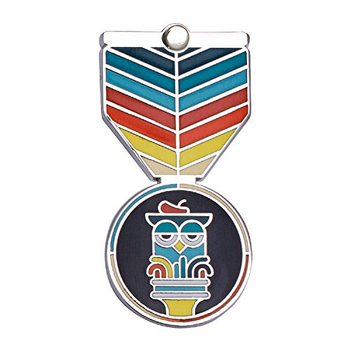 ART Award: Greeting Card & Gift (Enamel Lapel Pin / Necklace Charm) for Creative Excellence by Merit Medals