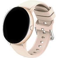 Inteligentny Zegarek Kobiety Okrągły Smartwatch Fitness Inteligentny Zespół Tętno Wykrywaj Cyfrowy Zegarek z…