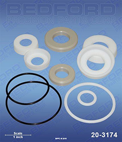 IPM 601013 Bedford 20-3174 Kit - IP02 Fluid Section Bedford Precision 20-3174