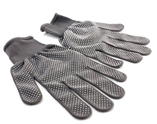 1 Pair Heat Resistant Finger Glove Hair Straightener Perm Curling Hairdressing Hand Protector by Abcstore99