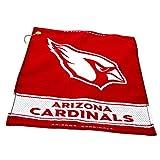 NFL Arizona Cardinals Jacquard Woven Golf Towel