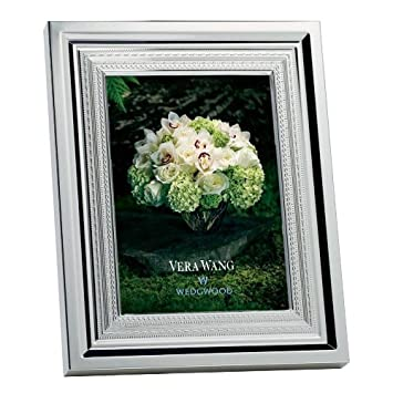 Vera Wang By Wedgwood Silver Plated With Love Photo Frame 8 X 10
