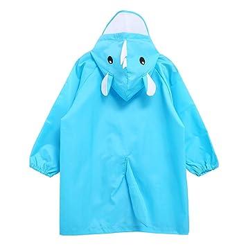 Amazon.com: Kids Rain Poncho, Boys Rain Coat Hooded Rain Jacket Cute  Rainsuit, 2-4 Years: Baby