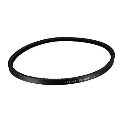 uxcell BX41 Drive V-Belt 41 Inches Length Industrial Power Rubber Transmission Belt: Automotive